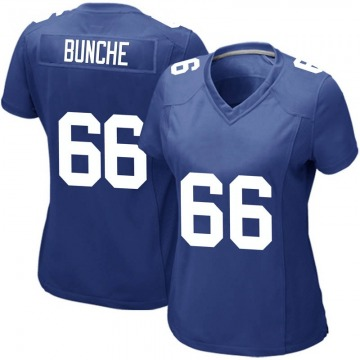 Women's New York Giants Malcolm Bunche Royal Game Team Color Jersey By Nike