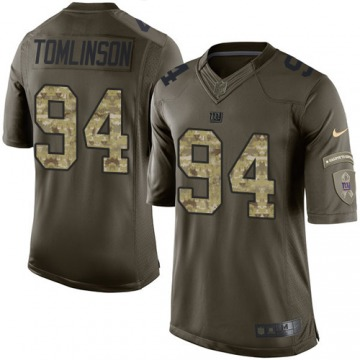 Youth New York Giants Dalvin Tomlinson Green Limited Salute to Service Jersey By Nike