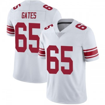 Youth New York Giants Nick Gates White Limited Vapor Untouchable Jersey By Nike