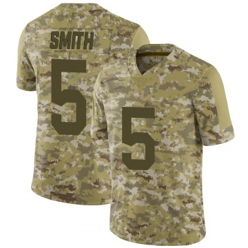 Youth New York Giants Sean Smith Camo Limited 2018 Salute to Service Jersey By Nike